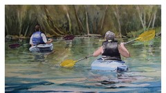 Saugeen Kayakers - Watercolour & Pen  Workshop