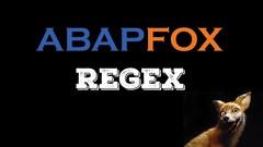 ABAP SAP - Regex!