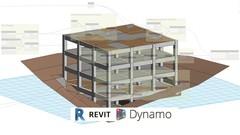 BIM Modeling Structure LOD 300-350 Revit 2018 and Dynamo