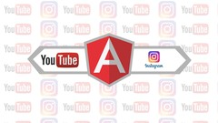 How to implement social media into your web using Angular ?
