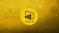 Power BI Desktop - Query Editor  Master data transformation