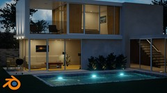Create Design A Modern 3d House In Blender 2 80 Udemy