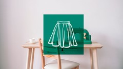How to sew a lined skirt without a pattern