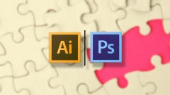 Creating Puzzle Pieces with Illustrator and Photoshop