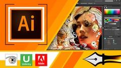 Imágen de Adobe Illustrator CC de Novato a Profesional en 70 clases
