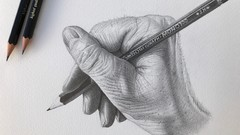 How to Draw Like a Master. Drawing a Hand.