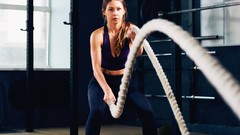 Rope Fitness Training For Big Calorie Burn and Weight Loss