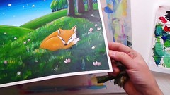Acrylic Painting for Beginners: Dreamy Stories Told w. Paint