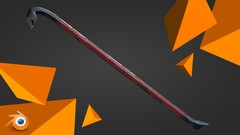 Creating a detailed crowbar game asset