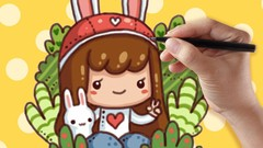 How to Draw Cute Cartoon Chibi Characters