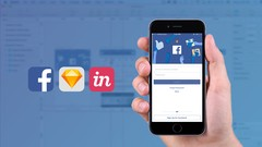 Mobile App : Design Facebook Application UI in Sketch