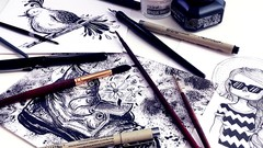Pen & Ink Illustration: The Basics for Creating Magical Art