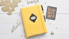 Encuadernación creativa: cuaderno personalizado en ecopiel