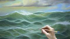 Pinta 4 Paisajes Marinos al Pastel, Aprende Dibujo y Pintura