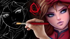 Netcurso-character-art-school-complete-coloring-and-painting