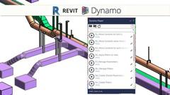 BIM Revit 2018 Dynamo Player for Modeling MEP Instalations