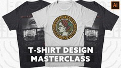 T-SHIRT DESIGN MASTERCLASS - BEGINNER TO PRO FAST