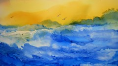 Alcohol Ink Abstract Play and Loosen Up Your Art with Air