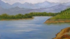 Learn Drawing and Painting a Landscape with Oil Colours