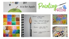 QUICK START painting with watercolors, play & learn PART 1