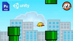 Make a 2D Flappy Bird Game in Unity®: Code in C# & Make Art!