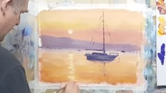 Acrylic Painting Course - Impressionist Seascapes & Beaches