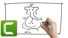 Create Hand Drawn Whiteboard Animation Videos With Camtasia