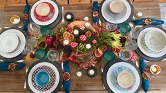 Crafts and Table Settings for Autumn