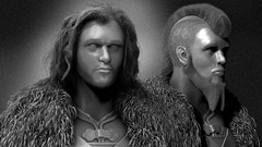ZBrush 4 - Create Hair & Fur with Fibremesh, Game of Thrones