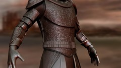 ZBrush 4 R8 Course on Creating Game of Thrones Style Armour