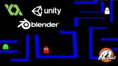 Build 22 Games in GameMaker Studio, C# Unity® & Blender