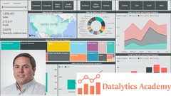 Microsoft Power BI Desktop - Data Analytics with Dashboards