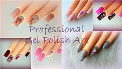 Gel Polish Decorations, Step by Step for Nail Artists
