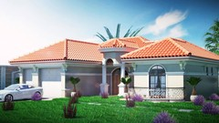 Master 3ds Max ,V-ray ,Photoshop : 3D rendering of the VILLA