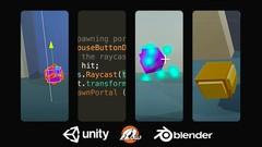 Make Your 1st 3D Unity® Game & 40 Low Poly Models in Blender