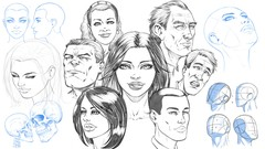 Netcurso-how-to-draw-heads-step-by-step-from-any-angle