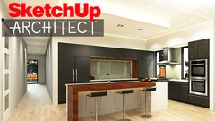 Admirable Sketchup Architect How To Design A Kitchen Udemy Interior Design Ideas Pimpapslepicentreinfo