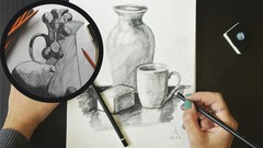 Drawing course for TOTAL BEGINNERS - From Line to STILL LIFE