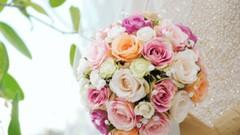 How to Arrange Flowers- A Wedding Floral Design Bouquet!