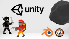 Unity Game Mechanics Mastery and Blender 3D Modeling
