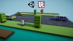 Create a game like Crossy Road with Unity & PlayMaker
