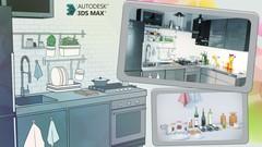 3ds Max Corona Wizualizacja Kuchni Udemy