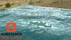 Substance Designer - Simple Water with Directional Controls