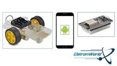 Controlando uma plataforma robótica - Android e ESP8266
