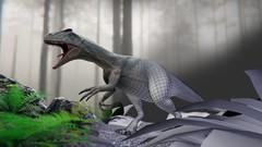 Netcurso - blender-279-creation-dun-dinosaure-workflow-complet