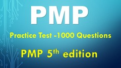 PMP: Practice Test #[pass before March 2018]# PMI Qst bank