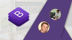 Bootstrap 4 - Create 4 Real World Projects