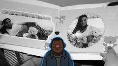 EDIÇÃO DE IMAGEM C/PHOTOSHOP - TEMA: ÁLBUM DE GESTAÇÃO