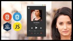Build Music Player in Html 5 css 3 & JavaScript (2 project )