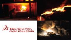 Imágen de Curso Solidworks Flow Simulation para hornos